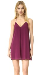 Alice Olivia Fierra Dress Plum