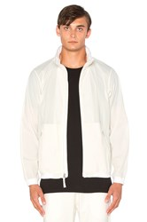 Reigning Champ Stow Away Jacket White