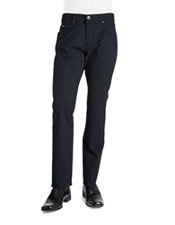 Bugatti Cordoba Mini Checked Pants Blue