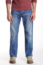 Big Star Pioneer Distressed Bootcut Jean Blue