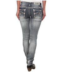 Rock And Roll Cowgirl Low Rise Skinny In Light Vintage W0s3646 Light Vintage Women's Jeans Blue