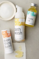 Anthropologie Zoe Organics Baby Travel Set White