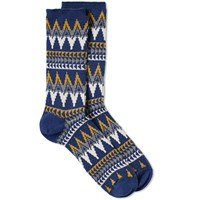 Anonymous Ism Beacon Crew Sock Blue