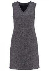 Opus Werra Summer Dress Raven Grey