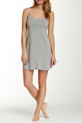 Joe's Jeans Lace Trim Slip Gray
