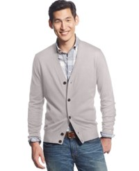 Tommy Hilfiger Signature Solid Cardigan Grey Heather