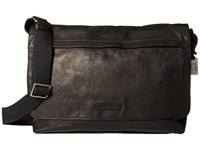 Frye Tyler Messenger Black Vintage Pull Up Messenger Bags