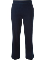 Odeeh Cropped Trousers Blue