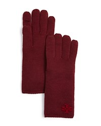 Tory Burch Whipstitch T Gloves