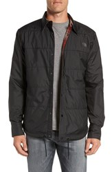 The North Face Men's 'Fort Point Flannel' Water Resistant Reversible Jacket Tnf Black