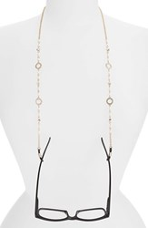 Women's Spring Street Pearly Bead And Crystal Eyeglass Chain