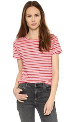 A.P.C. Chic Tee Shirt Rouge