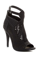Michael Antonio Jyst Peep Toe Heel Black