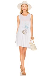 The Laundry Room Shell Phone Dress White