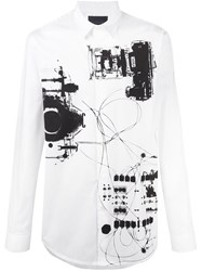 Diesel Black Gold X Ray Print Shirt White