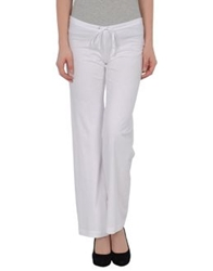 American Apparel Casual Pants White