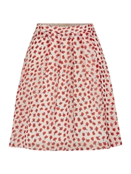 La Fee Maraboutee Short Skirt With Wrap Around Belt Multi Coloured