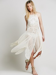 Free People Shake It Fringed Slip Tea