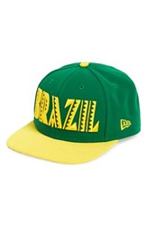 Men's New Era Cap 'Brazil' Snapback Cap