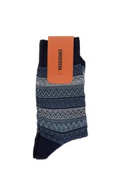 Missoni Zig Zag Socks Grey