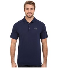 The North Face Short Sleeve Crag Polo Cosmic Blue Men's Short Sleeve Knit