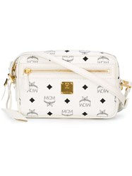 Mcm 'Project Visetos' Cross Body Bag White