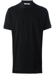 Givenchy Cobra Print Polo Shirt Black