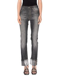 Richmond Denim Denim Denim Trousers Women Steel Grey