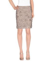 Gold Hawk Skirts Knee Length Skirts Women Dove Grey