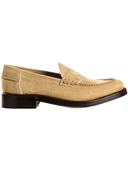 Loewe Classic Loafers Nude And Neutrals