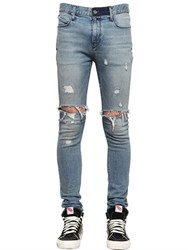 Rta 16Cm Skinny Distress Stretch Denim Jeans