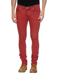Fifty Four Denim Pants Red