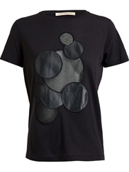 Christopher Kane 'Molecule' T Shirt Black