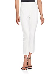 1.State Asymmetrical Seamed High Waist Pants New Ivory