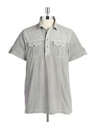 Dkny Pocket Polo Grey