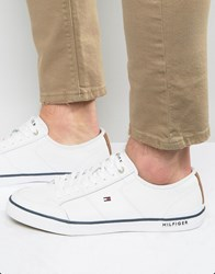 Tommy Hilfiger Harrington Trainers White