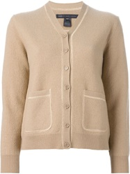 Marc By Marc Jacobs Buttoned Cardigan Brown