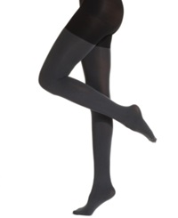Star Power By Spanx Center Stage Reversible Shaping Tights Backdrop Black Grey