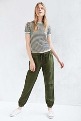 Bdg Woven Pull On Pant Green