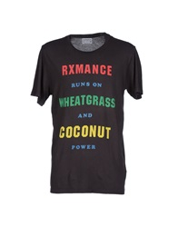 Rxmance T Shirts Steel Grey