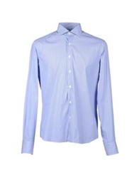 Lorenzini Shirts Blue
