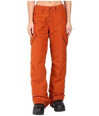 Burton Fly Pant Picante Women's Casual Pants Red