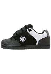 Dvs Shoe Company Discord Skater Shoes Black Grey