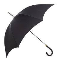 Harrods Of London Matte Handle Umbrella Unisex Black