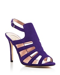 Sjp By Sarah Jessica Parker Zofia Suede Caged High Heel Sandals