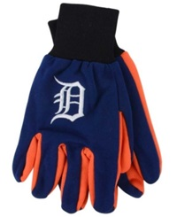 Forever Collectibles Detroit Tigers Palm Gloves Navy
