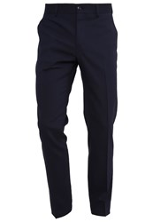 Tiger Of Sweden Herris Suit Trousers Sky Captain Dark Blue