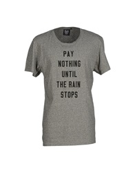 Revolution T Shirts Grey