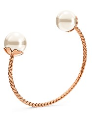 Folli Follie Grace Rose Gold Pearl Bangle