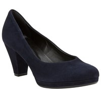 John Lewis Jagger Court Shoes Navy Leather